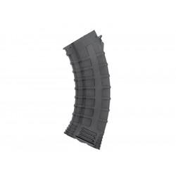 Cyma chargeur polymère renforcé 130 coups pour AK47 - Noir -