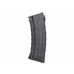 Cyma chargeur polymère renforcé 130 coups pour AK74 - Noir -