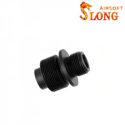 Slong Airsoft Adaptateur for silenceur 14mm CCW to VSR-10 -