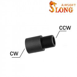 Slong converter 14mm positive to 14mm negative -