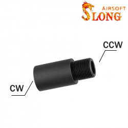 Slong extension / converter 26mm for AEG (14mm CW) -