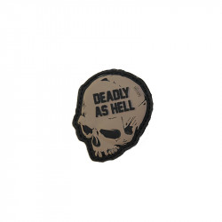 deadly as hellVelcro patch