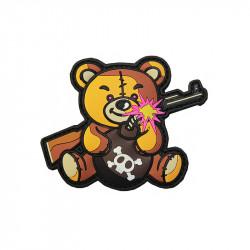 Terror Teddy Velcro patch -