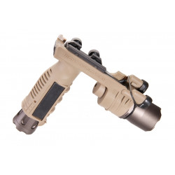 Night Evolution M910A Grip vertical avec torche intégrée (DE)