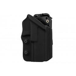 GK Tactical Holster Kydex V2 0305 pour Glock 17 / 18C / 19 - Noir