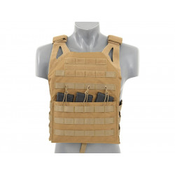 8FIELDS Jump Plate Carrier V2 large size - Tan -