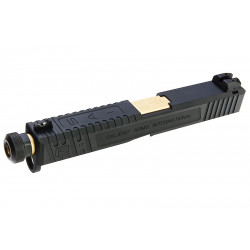 EMG X G&P SAI Tier One Slide Kit Gold Barrel for Glock 17 GBB -