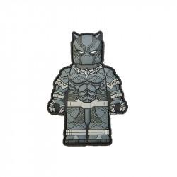 Movie Warriors - Black P Velcro patch -
