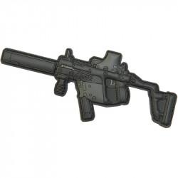 Patch Velcro Gun Kriss Vector
