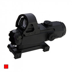 Blackcat Airsoft HAMR Scope with Red Dot Sight -