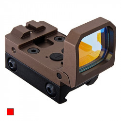 Blackcat foldable Red Dot Sight - Tan -