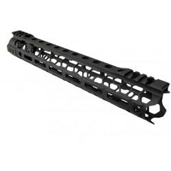 Kublai ODIN style M-LOK 12.5 inch RIS for M4 AEG - Black