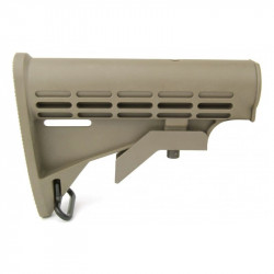 6 Position mil-spec Retractable M4 Stock - DE -