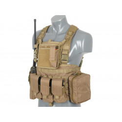 8FIELDS Force Recon Chest Harness - Tan -