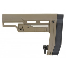 APS RS2 Low Profile Adjustable Stock for M4 - Tan -