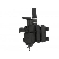 8FIELDS combo Holster et porte chargeur pour SMG - Noir -