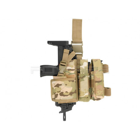 8FIELDS SMG holster and magazine pouch combo - Multicam -