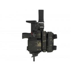 8FIELDS combo Holster et porte chargeur pour SMG - Multicam Black -