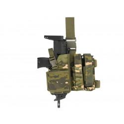 8FIELDS combo Holster et porte chargeur pour SMG - Multicam Tropic -