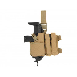 8FIELDS SMG holster and magazine pouch combo - Coyote -