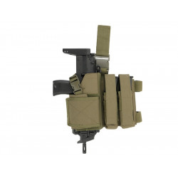 8FIELDS SMG holster and magazine pouch combo - Olive -