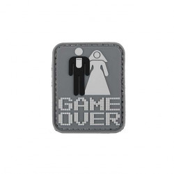 GAME OVER PVC patch -