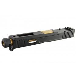 Guns Modify kit culasse SAI OR avec slot RMR pour TM Glock 17 GBB -