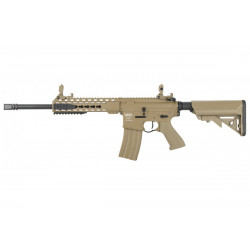 Lancer tactical LT-19 Proline G2 métal M4 Keymod Mosfet ETU TAN -