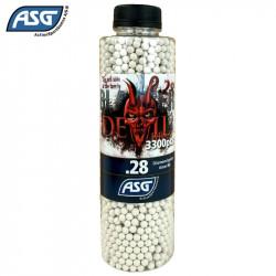 ASG Blaster Devil 0.28gr 3300 Billes -