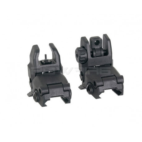ACM MBUS GEN1 style folding sights -