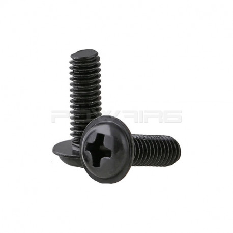 Set of 2 metal screw for M4 AEg motor grip -
