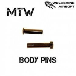 Wolverine set de gouilles traversantes pour MTW -