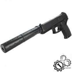 P6 MK23 Custom NBB Gas long silencer -