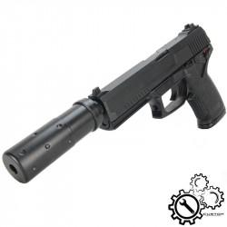 P6 MK23 Custom NBB Gaz silencieux court -