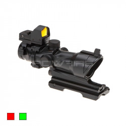 AIM red dot type ACOG 4X32IR COMBO noir -