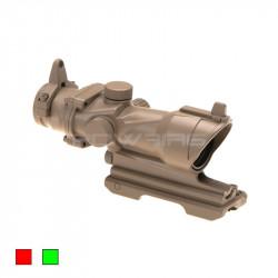 AIM 4x32IR ACOG style scope Desert -