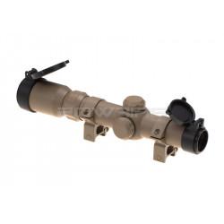 AIM lunette tactique 1-4x24 desert -