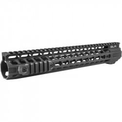 Dytac 13 inch Solo Lite Keymod rail for AEG M4 Black -