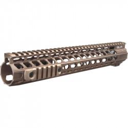 Dytac 13 inch Solo Lite Keymod rail for PTW / GBBR M4 Dark Earth -