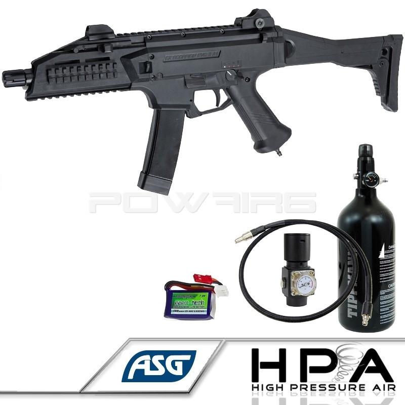 Asg Cz Scorpion Evo 3 A1 Hpa Edition Pack