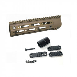 "Dytac rail 416 REM 10.5"" Pour Marui TM416 EBB Dark Earth -"