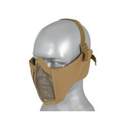 Protection pour bas du visage et oreilles tan -