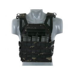 8FIELDS Plate Carrier jump V2 SAPI - Multicam black -