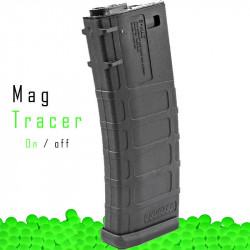 SHOOTER hi-cap tracer magazine for M4 AEG -
