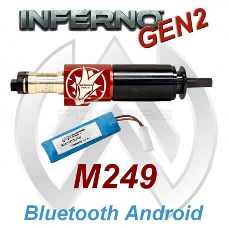 Wolverine Inferno GEN2 Bluetooth M249 -