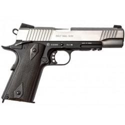 Cybergun / KWC Colt 1911 Rail CO2 Black / Silver -