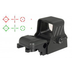 HD118 Multi reticle electronic red dot sight -