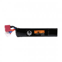 Duel Code Battery lipo 800mah 11.1V - T- DEAN -