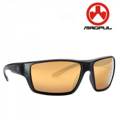 Magpul Terrain black polarized gold mirror lenses -