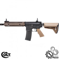COLT M4A1 MK18 9 inch Dark Earth custom AEG -